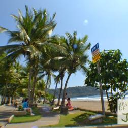 Areas recreativas frente al mar