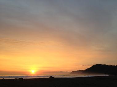 Una linda imagen de Sunset en Playa Jaco