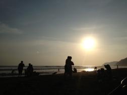 Playa Jaco Tarde calurosa